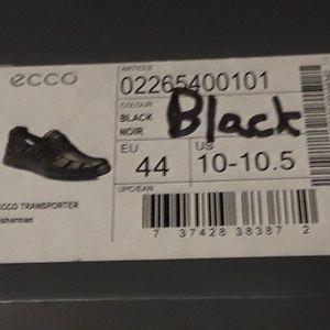 Ecco Shoes - Mens - ECCO sandals sz 10 - 10.5 M - Blk